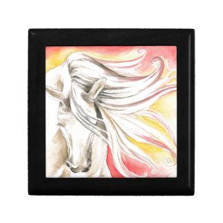 Andalusian Sunshine Horse Keepsake Box