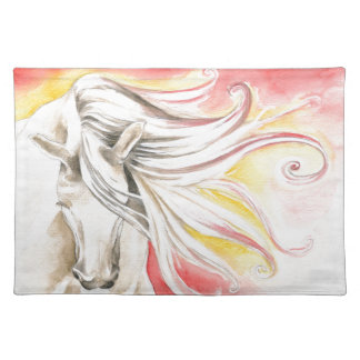 Andalusian Sunshine Horse Placemat