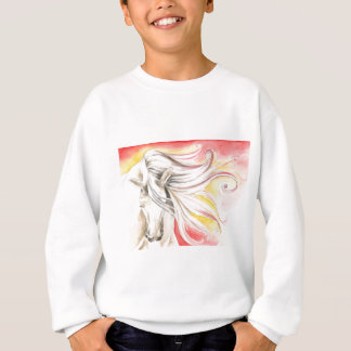 Andalusian Sunshine Horse Sweatshirt