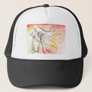 Andalusian Sunshine Horse Trucker Hat