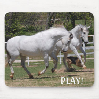 ANDALUSIANS PLAY! MOUSE PAD
