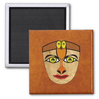 Andean Mask Square Magnet