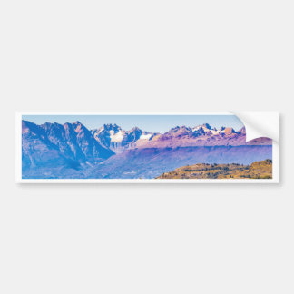 Andean Patagonia Landscape, Aysen, Chile Bumper Sticker