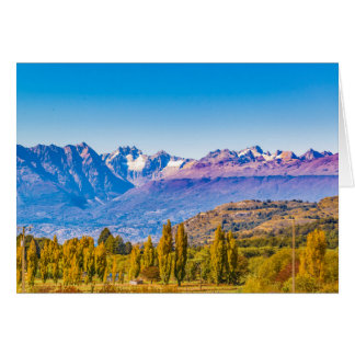 Andean Patagonia Landscape, Aysen, Chile Card