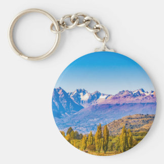 Andean Patagonia Landscape, Aysen, Chile Keychain