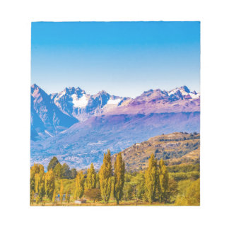 Andean Patagonia Landscape, Aysen, Chile Notepad