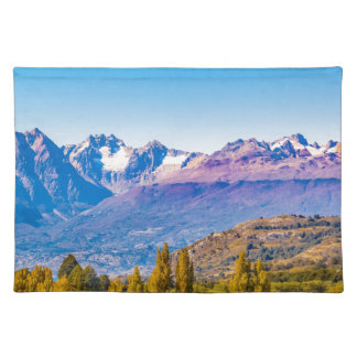 Andean Patagonia Landscape, Aysen, Chile Placemat