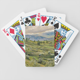 Andean Rural Scene Quilotoa, Ecuador Bicycle Playing Cards