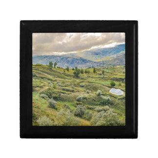 Andean Rural Scene Quilotoa, Ecuador Gift Box