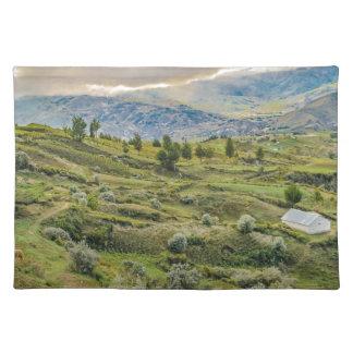 Andean Rural Scene Quilotoa, Ecuador Placemat