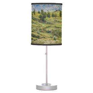 Andean Rural Scene Quilotoa, Ecuador Table Lamp