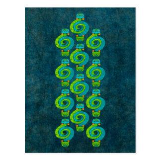Andean Snake Postcard