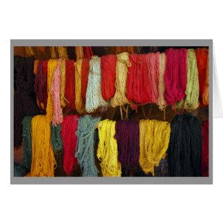 """Andean Yarn"" Card"