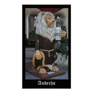 Andechs Lion Poster