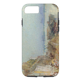 Andernach, 1817 (w/c with pen and black ink on wov iPhone 7 case