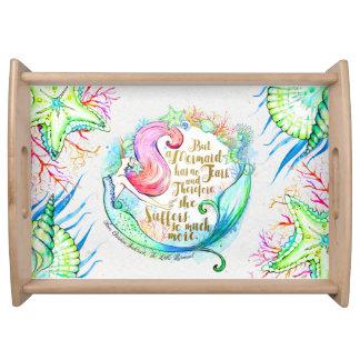 Andersen's Mermaid tray