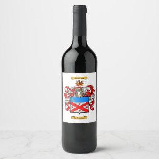 Anderson (English) Wine Label