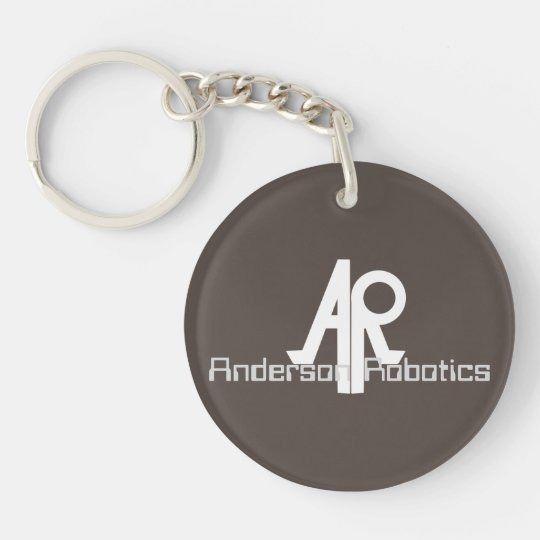 Anderson Robotics's keyholder [SCP Foundation] Double-Sided Round Acrylic Keychain