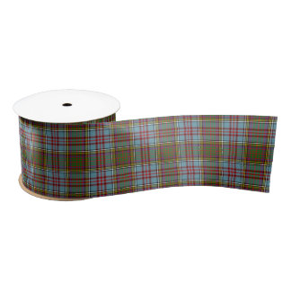 Anderson Scottish Tartan Pattern Satin Ribbon