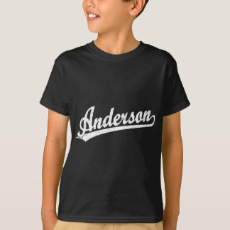 Anderson script logo in white T-Shirt