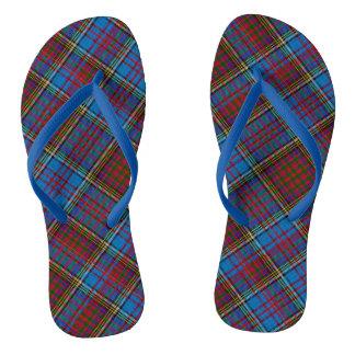 Anderson Tartan Blue-strap Flip-Flops Flip Flops