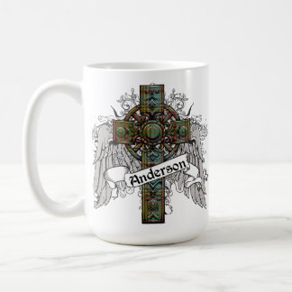 Anderson Tartan Cross Coffee Mug