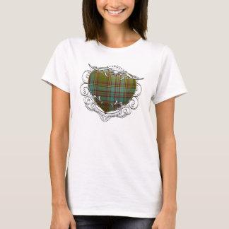 Anderson Tartan Heart T-Shirt