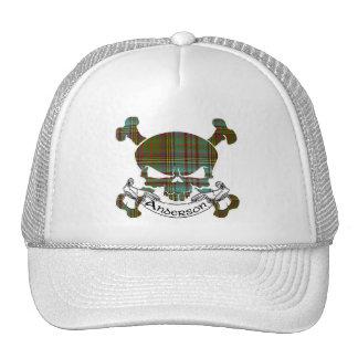 Anderson Tartan Skull Hat