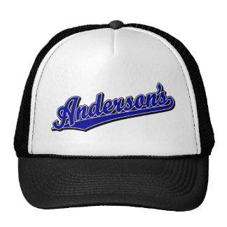 Anderson's in Blue Trucker Hat