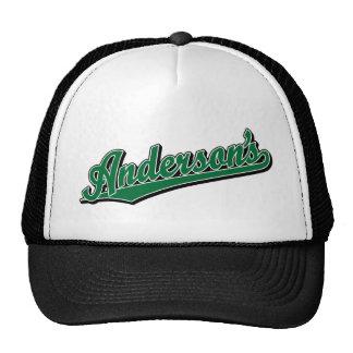 Anderson's in Green Trucker Hat