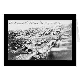 Andersonville Prison, GA 1864 Card