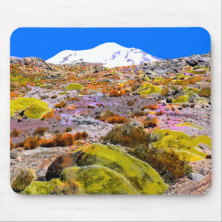 Andes Mountain View Peru Mouse Pad