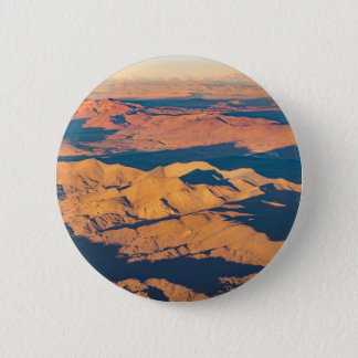 Andes Mountains Aerial Landscape Scene 2 Inch Round Button