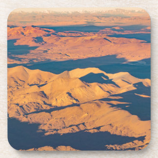 Andes Mountains Aerial Landscape Scene Coaster