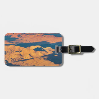 Andes Mountains Aerial Landscape Scene Luggage Tag