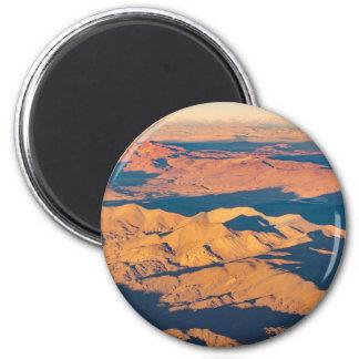 Andes Mountains Aerial Landscape Scene Magnet