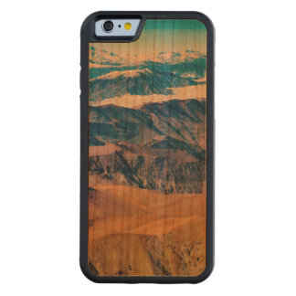 Andes Mountains Aerial View, Chile Carved Cherry iPhone 6 Bumper Case