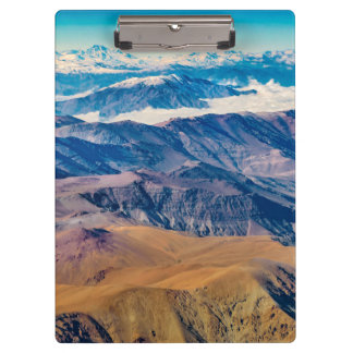 Andes Mountains Aerial View, Chile Clipboard