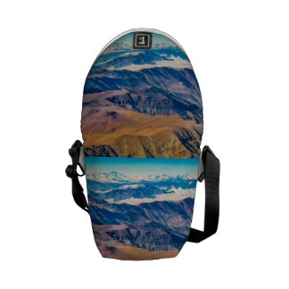 Andes Mountains Aerial View, Chile Courier Bag