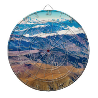 Andes Mountains Aerial View, Chile Dartboard