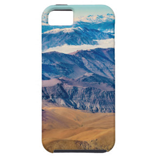 Andes Mountains Aerial View, Chile iPhone 5 Covers