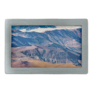 Andes Mountains Aerial View, Chile Rectangular Belt Buckle