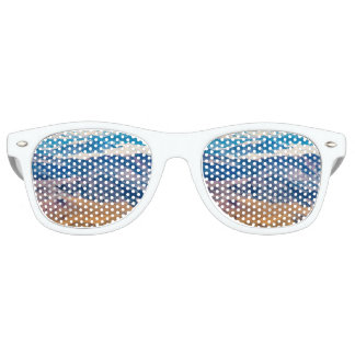 Andes Mountains Aerial View, Chile Retro Sunglasses