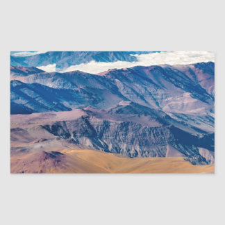 Andes Mountains Aerial View, Chile Sticker