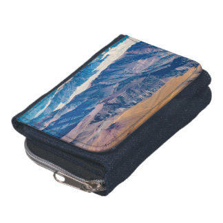 Andes Mountains Aerial View, Chile Wallets