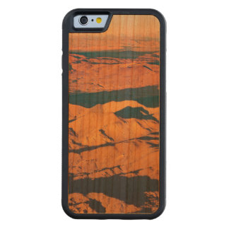 Andes Mountains Desert Aerial Landscape Scene Carved Cherry iPhone 6 Bumper Case
