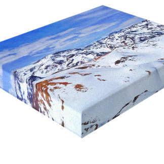 Andes Mountains in Chilean Patagonia Canvas Print