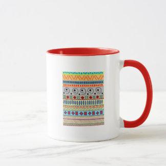Andes Tribal Large Ringer Mug