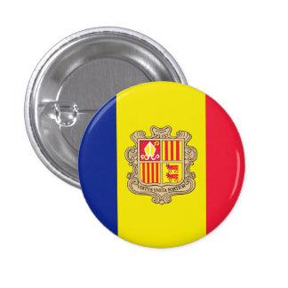 Andorra 1 Inch Round Button