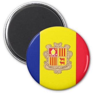 andorra 2 inch round magnet